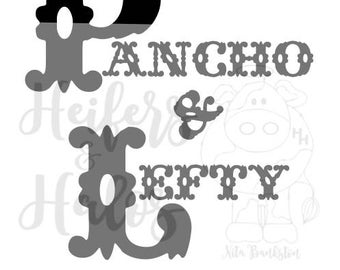 Pancho and Lefty svg, Merle Haggard, Willie Nelson, t-shirt, yeti, fun