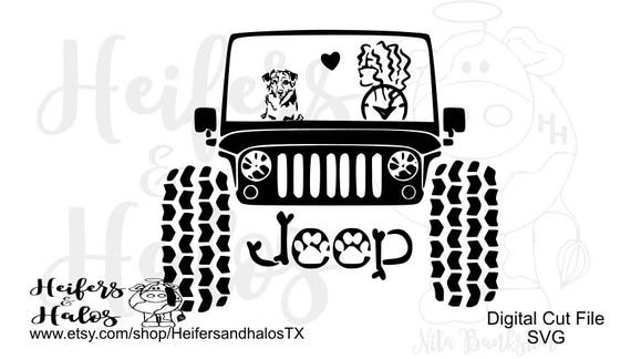 My Aussie rides shotgun with mudtires CUT FILE - svg, png, pdf, eps, dxf cut file for cricut and silhouette cutting machines
