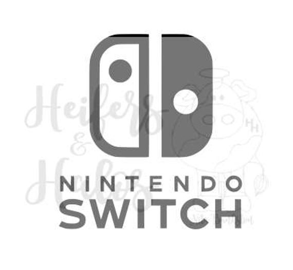 Nintendo Switch svg cut file for cricut, silhouette - t-shirt, yeti cups, decals