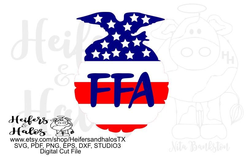 Ffa Emblem Flag Digital File Digital Cut File Svg Pdf Png Eps