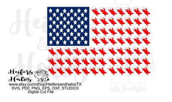 Bull rider USA flag, digital design, digital cut file, printable, sublimation, t-shirt design, cup designs, svg, pdf, png, eps, dxf studio