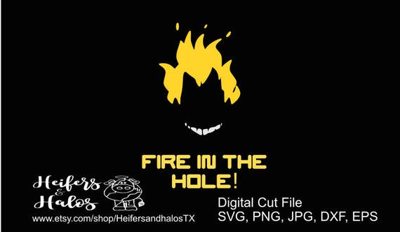 Fire in the hole Junkrat Overwatch svg, png, eps, dxf, pdf cut file, t-shirts, decals, yeti cups, video game, gamer, game svg