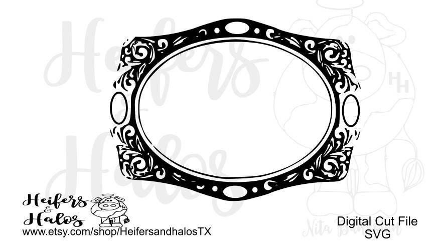 blank belt buckle 2 svg pdf png eps dxf use with cricut and