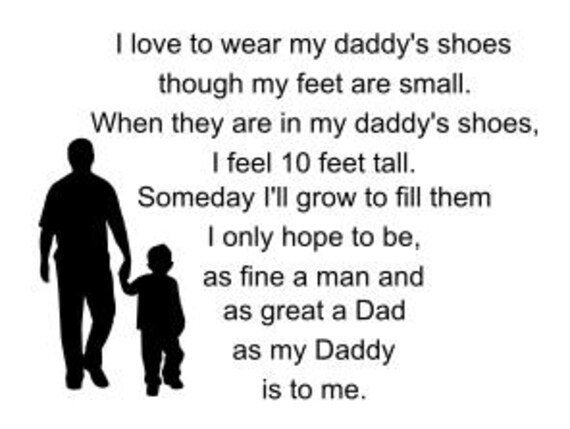 Daddy's Shoes SVG cut file for cricut and silhouette