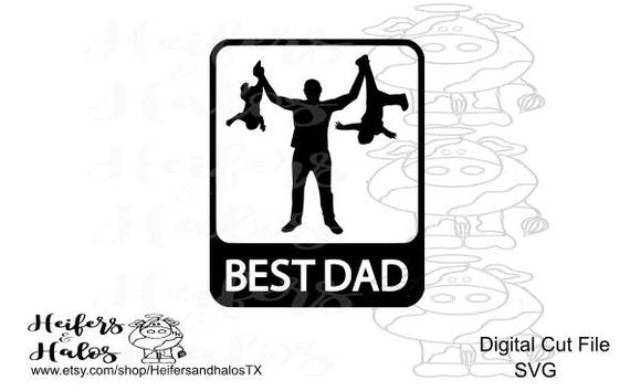 Best dad svg for Father's Day, cut file for cricut, cameo silhouette, t-shirts, decal, yeti cup design, funny