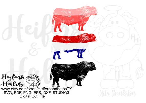 distressed hombre bull collection, digital files, digital cut file, printable, sublimation, poster, stickers, cards, changeable colors