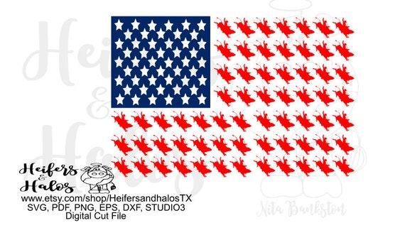 Bull Rider flag digital file, digital cut file. svg, pdf, png, eps, dxf, studio3 studio2 for t-shirt designs, cup designs, cricut silhouette