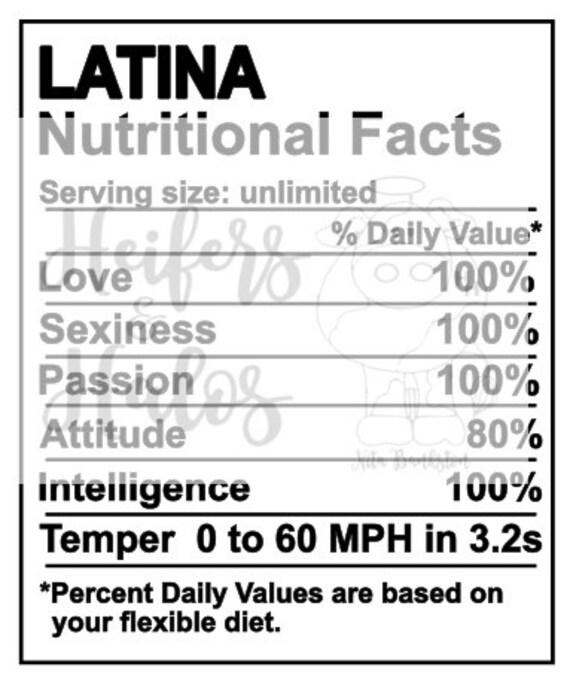 Latina Nutritional Facts