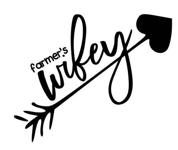 farmer's wifey - svg, png