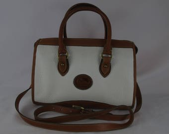 Dooney & Bourke Vintage All Weather Leather Satchel R21 Bone Pre-Owned