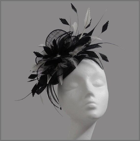 Hochzeit Race Royal Damen Sinamay Stirnband Fascinator Kopfschmuck