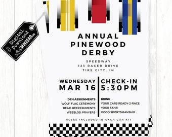 Pinewood Derby Car Etsy