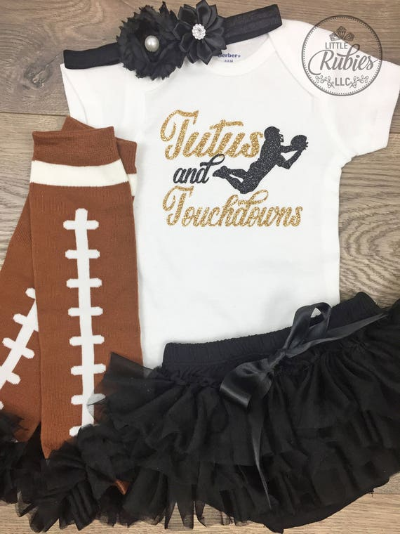 a70f4334f My first Football season baby girl outfit Tutus and touchdowns