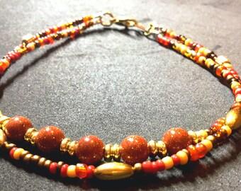 Anklet bracelets Ankle bracelets Beach anklets Boho anklets Beaded anklets Yoga anklets Jewelry Minimalist anklets Healing anklet Prosperity