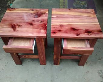 Quick View. Cedar End Table ...