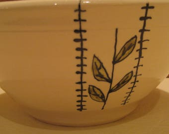 Wheel Thrown Pottery Serving Bowl
