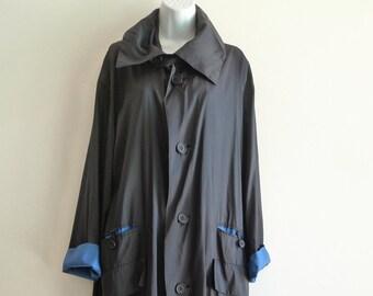Reversible Raincoat Etsy