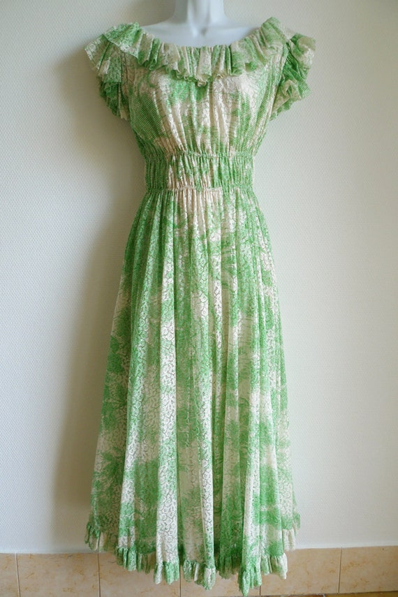 Grès Boutique 70s summer dress