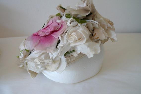 Christian Dior 'Miss Dior' floral pillbox hat - image 4