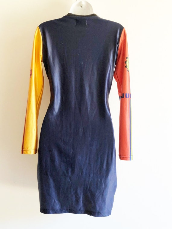 Junior Gaultier iconic vintage stretch dress from… - image 4
