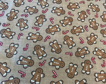 Fitted Crib Sheet Gingerbread People