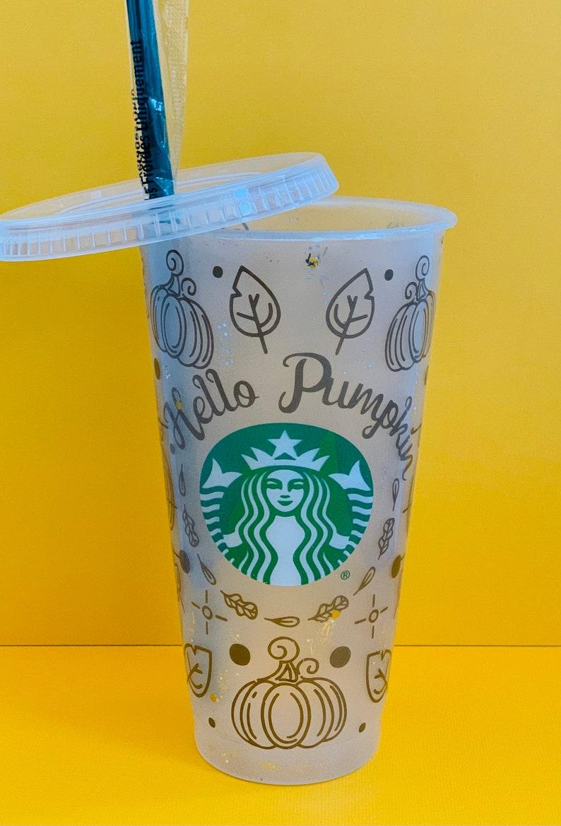 Christmas Gift Starbucks Cold Cup Fall Tumbler Pumpkin Spice Gift Gifts Tumblers Starbucks Tumbler Fall Glitter Tumblers