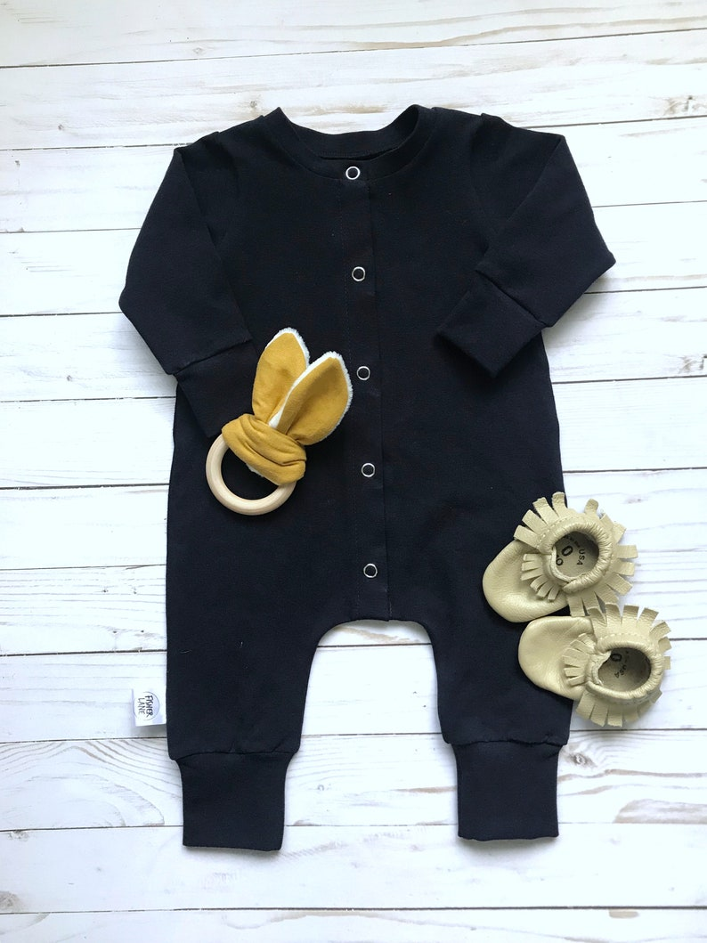 aa5d682a0 Snap Romper with Cuffs snap front toddler boy toddler