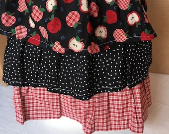Apron.Waist Style.Retro.Vintage 50s & 60s Design.Handmade.One of Each.