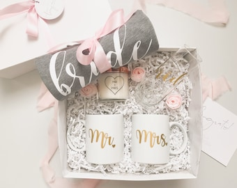 Engagement Gift Basket Engagement Box Bride To Be Gift Etsy