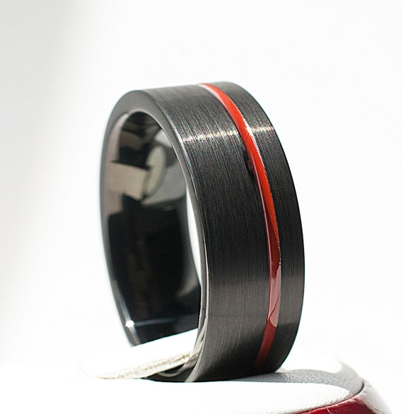 Designed For Maximum Comfort Fit For Men And Women Use Size 15 Black Tungsten Love Ring Love Inspired Wedding Band And Anniversary Ring