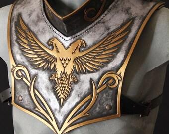 Paladyn leather gorget