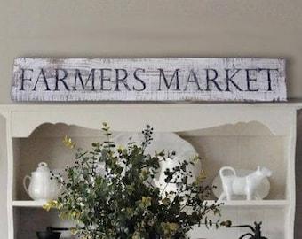 Farmers Market Sign, Farmers Market, Farmers Market Wood Sign, Farmhouse Decor, Wood Farmhouse Sign, Rustic Farmhouse Decor, Rustic Signs