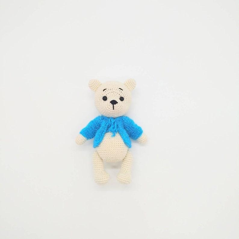Amigurumi bear in sweater crochet pattern | Amiguroom Toys | 794x794