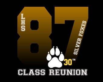 1edff5c4 Class Reunion T-shirt design