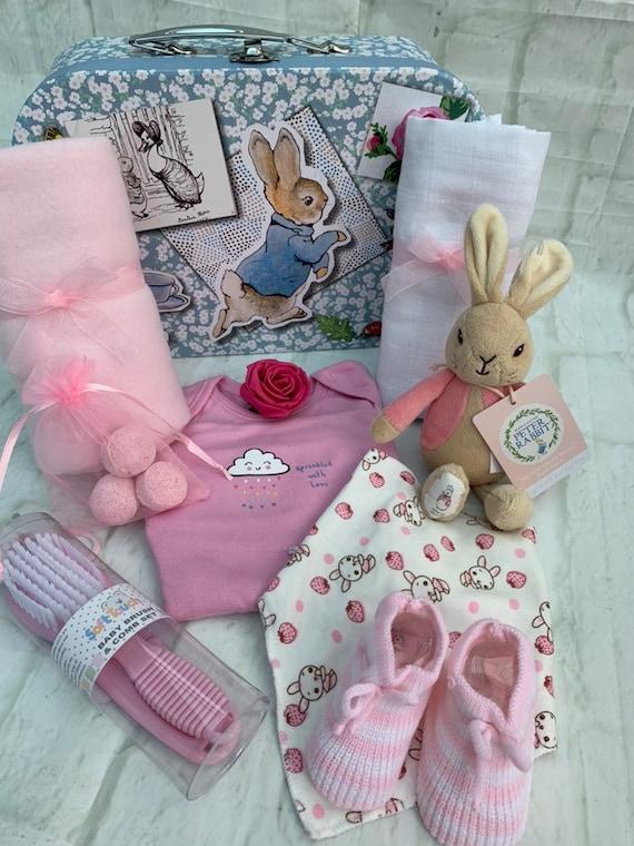 Hand Stuffed Premier Quality Hand Knit Flopsey Bunny Rabbit