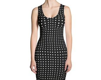 Polka Dot Cut & Sew Dress Polka Dot Mini Dress