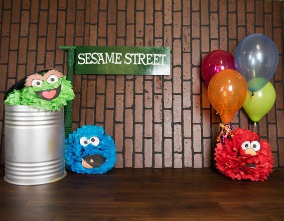 Sesame Street Digital Backdrop For Photography From KWPStudio On Etsy Studio