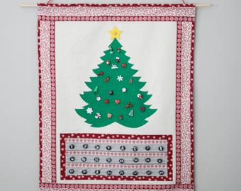 Christmas Countdown Advent Calendar - Pattern