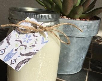 White Tea  Handmade Soy Candle