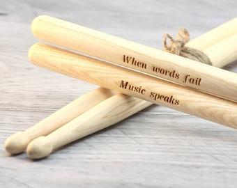 Personalised Drum Sticks