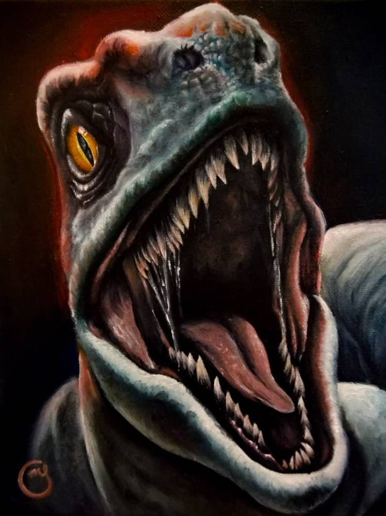 Jurassic World Velociraptor Blue  61f1a5c38895