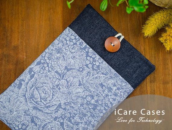 Macbook Pro 13 Case iPad Air Case Macbook Air 13 Sleeve 4 7 8 11 12 14 15 16 12 9 10 5 10 2 10 9 Inch 2020 2021 M1 Rose Floral Jeans Blue