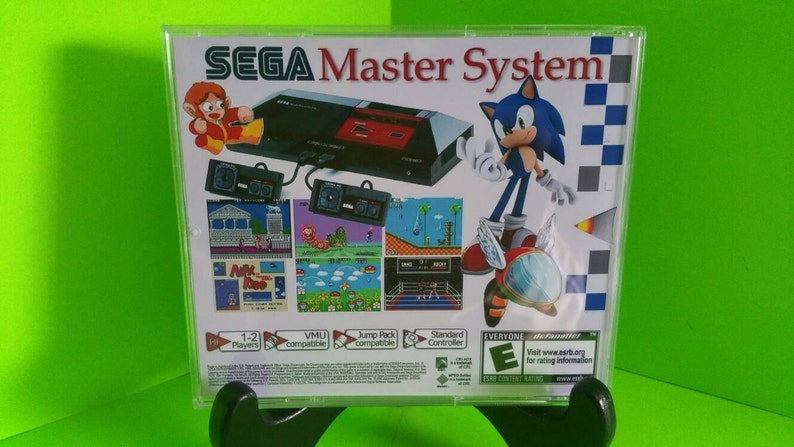 Sega dreamcast self booting compilation of sega masters and game gear  Fan  made homebrew