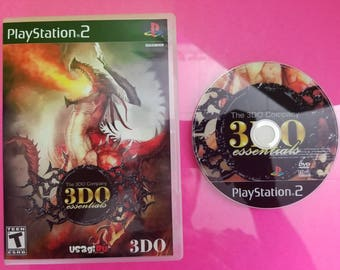 3do essentials reproduction DVD case and art disc with free Rom for the PlayStation 2 , PS2 , free mcboot