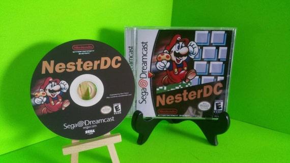 Sega dreamcast nester DC nintendo comp disc homebrew fan made