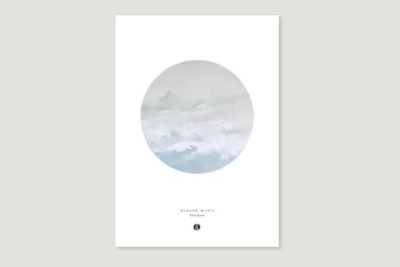"""Art Pressure/Fine Art Print: """"Blauer.Mond"""""""