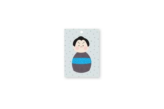 """Gift tags: """"Kokeshi.Dots.Ju2"""""""