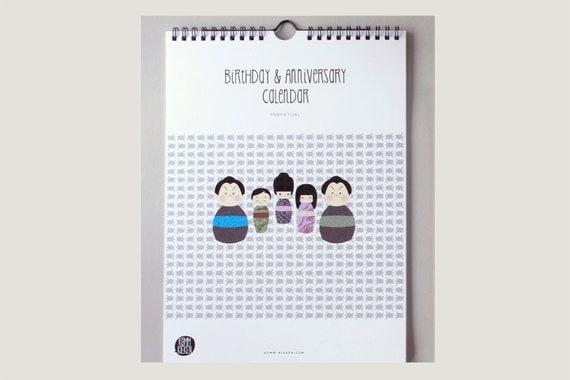 "Calendar: ""Kokeshi"""