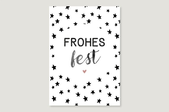 "Postcard: ""Happy Feast Stars"""