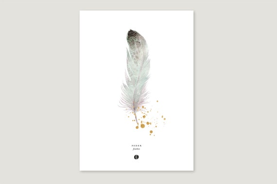 "Art Pressure/Fine Art Print: ""Feather"""
